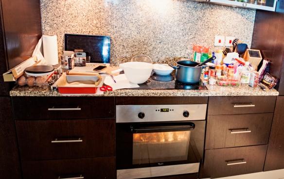Kitchen Christmas Mess-1