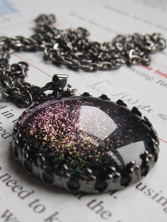 Entropy Circle Necklace