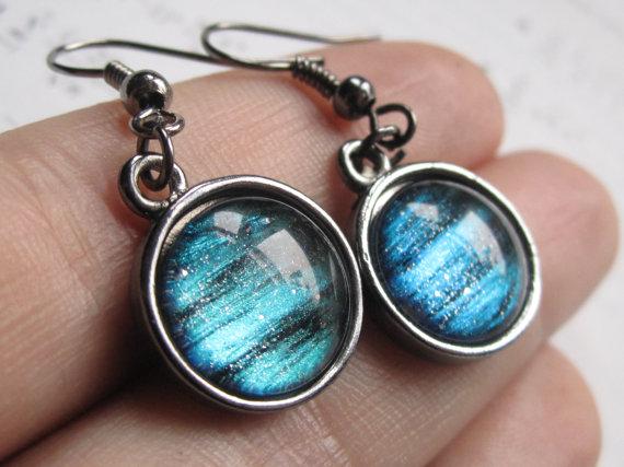 Neptune Dangle Earrings