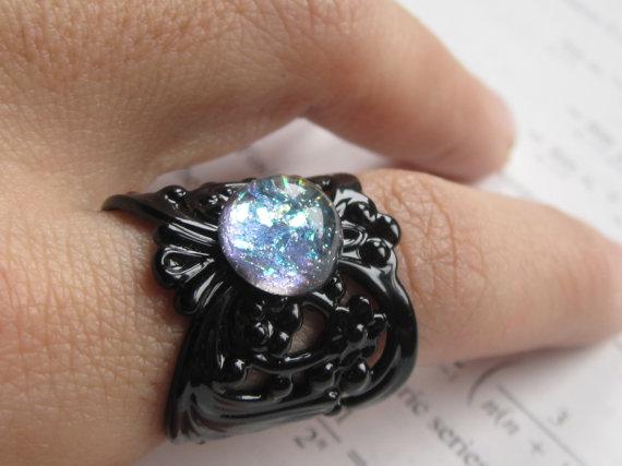 Polar Filigree Ring