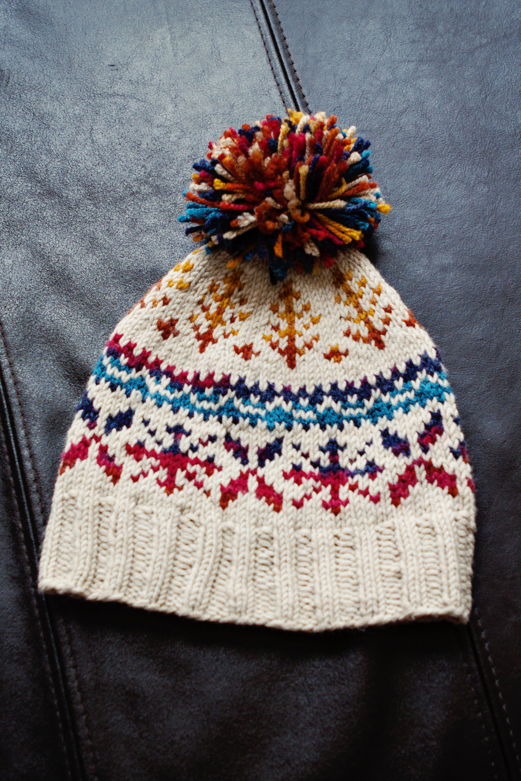MG 2660-1 This first one is this FAIR ISLE hat pattern … ... 88f09a5aee4