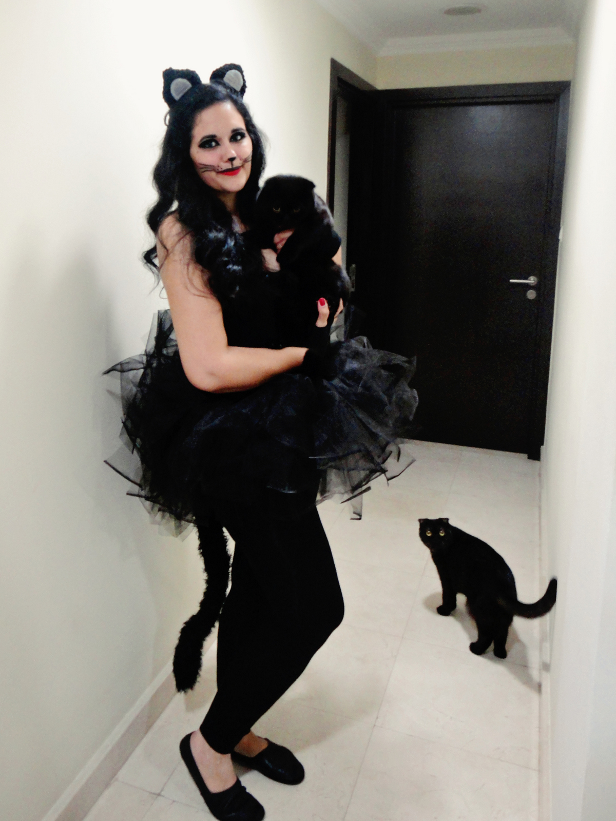 halloween 2014 … a black cat … the little mermaid … & perry … | our