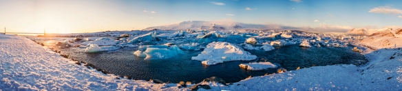 Glacier Lagoon Pano 1