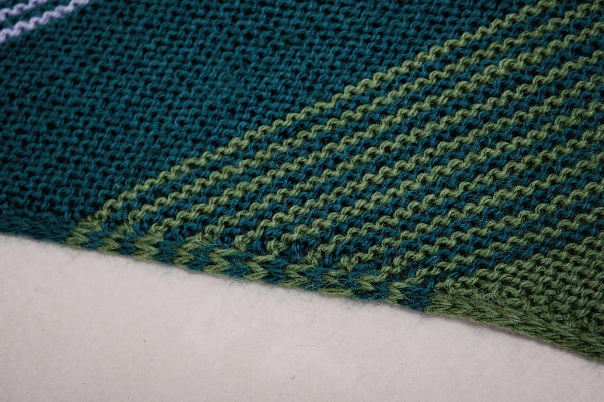 Knitting Bias Stockinette : Knitting adventures … bias shawls our in